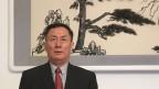Wenbing Geng, der chinesische Botschafter in der Schweiz.