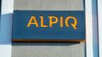 Logo der Alpiq am Hauptsitz in Olten.