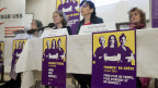 Medienkonferenz des SGB zum Frauenstreik vom 14. Juni 2019.