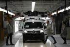 In der Renault-Fabrik Maubeuge in Nordfrankreich