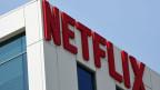Netflix-Logo in Hollywood, Los Angeles.