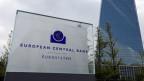 Die Europäische Zentralbank (EZB) in Frankfurt am Main.