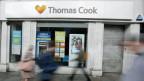 Geschlossene Filiale des britischen Reiseveranstalters Thomas Cook in London.