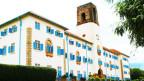 Das Hauptgebäude der Universität Makerere in Uganda.