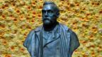 Büste des Nobelpreis-Gründers Alfred Nobel.