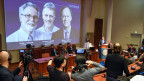 Die diesjährigen Medizin-Nobelpreisträger sind William Kaelin, Peter Ratcliffe und Gregg Semenza (vlnr.)