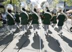 Marschmusik wird auch heute noch gerne an Umzügen gespielt.