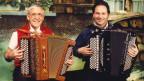 Zwei Akkordeonisten.