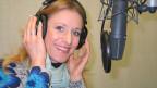 Stefanie Hertel zu Gast im Studio von SRF Musikwelle.