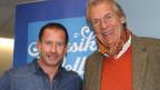 Pepe LIenhard besucht Leonard in der «Hit-Welle».