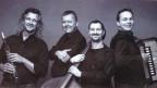 Die Gupfbuebä sind Dani Häusler mit Klarinette, Akkordeonist Jörg Wiget, Pianist Ueli Stump und Dominik Lendi am Kontrabass