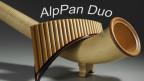Alphorn und Panflöte harmonieren perfekt bei.