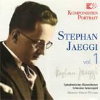 CD-Cover «Stephan Jaeggi – Vol. 1».