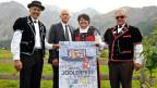 An der offiziellen Pressekonferenz blickt man mit Vorfreude aufs Eidgenössische Jodlerfest 2014 in Davos.