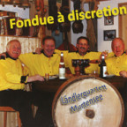 CD-Cover «Fondue à discretion».