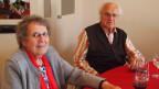 Georges Däscher und seine Frau Stinali haben fünf Kinder grossgezogen. Sie leben heute in der ehemaligen «Fabrik», in der die Pillen und Wässerchen von Kräuterpfarrer Künzle hergestellt wurden.