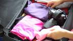 Sorgfältiges Kofferpacken lässt einen den Urlaub «knitterfrei» erleben.