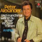 Peter Alexander, wie man ihn kannte und liebte.