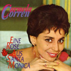 Carmela Corren war eine israelische Schlagersängerin der Sechziger.