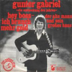 Plattencover Gunther Gabriel.