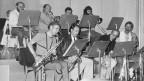 Luc Hoffmann (2.v.r.) 1982 gemeinsam mit der DRS Big Band.