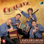 Verspielt und aufgestellt: Ohalätz auf dem Cover ihrer aktuellen CD «Ländlersurium».
