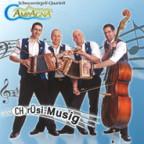 Cover zur CD «Chrüsi Musig» vom Schwyzerörgeli-Quartett Campagna.