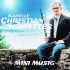 CD-Cover «Mini Musig» von Christian Schnetzer.