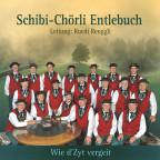 Das Schibi-Chörli Entlebuch auf dem Cover ihres neuen Albums «Wie d'Zyt vergeit».