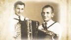 Handorgel-Duett Gebrüder Buser mit Albert und Jakob «Köbi» Buser.