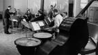 Das Orchester Cedric Dumont während einer Probe.