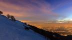 Fantastische Aussicht vom Monte Generoso über das Tessin.