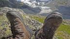 Gutes Schuhwerk ist das A und O einer Bergwanderung.