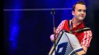 Christian Vetsch mit Harmonika
