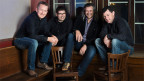 Reto Kamer, Markus Flückiger, Dani Häusler und Sepp Huber sind sichtlich zufrieden mit ihrem neuen Album «Hujart».