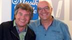 Andy Borg und Christian Salzmann im Studio von SRF Musikwelle.