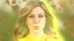 Laura Wilde in sommerliche Farben getaucht.