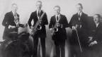 Fünf weisse Jazz-Musiker