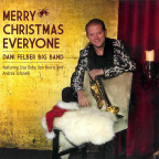 CD-Cover «Merry Christmas everyone» von Dani Felber.