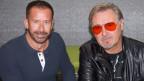 Zwei Männer im SRF Musikwelle Studio.