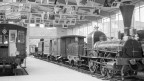 Eine Aufnahme von 1959: Die Spanischbrötli-Bahn im Verkehrshaus der Schweiz in Luzern.