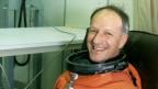 Der Schweizer Astronaut Claude Nicollier, kurz vor seinem ersten Weltraumflug 1992.