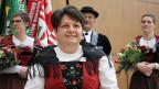 Karin Niederberger, Präsidentin Eidgenössischer Jodlerverband, blickt mit grosser Freude in die Zukunft.