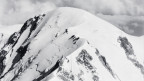 Der Gipfel des Mont Blanc.