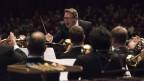 Da ist voller Einsatz gefragt: Michael Bach will mit der Brass Band Bürgermusik Luzern Spitzenleistungen erbringen.