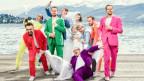 «UnglauBlech» besteht aus acht Profimusikern aus dem Appenzell, Thurgau, Schaffhausen, Schwyz und Luzern.