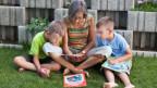Grossmutter mit Enkelkindern