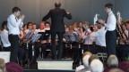 Die Musikgesellschaft Schuepfheim spielte am letzten Eidgenössischen Musikfest in Montreux.
