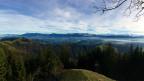 Aussicht vom Napf mit dem Südoastpanorama.