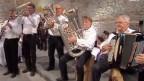 Die «Höcklisteiner Musikanten» bei einem Auftritt in der Sendung «Hopp de Bäse» im Jahr 2011.